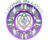 Window Decal 8x8 Living in Love