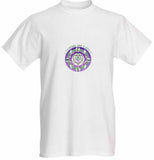 Short Sleeve T-shirt Living in Love Healing Mandala