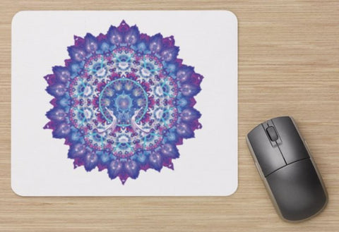 Mouse Pad Aura Portrait and Mandala