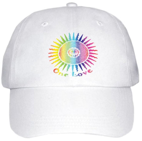 Ball Cap White - One Love