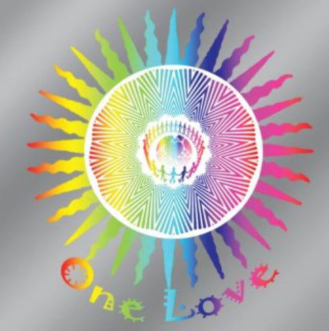 Window Decal - One Love Design