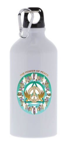 Sport Bottle Power of Peace Energy Mandala