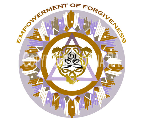 Window Decal 8x8 The Empowerment of Forgiveness