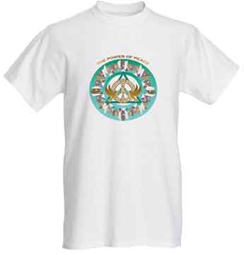 Short Sleeve T-shirt  The Power of Peace Ascension Design