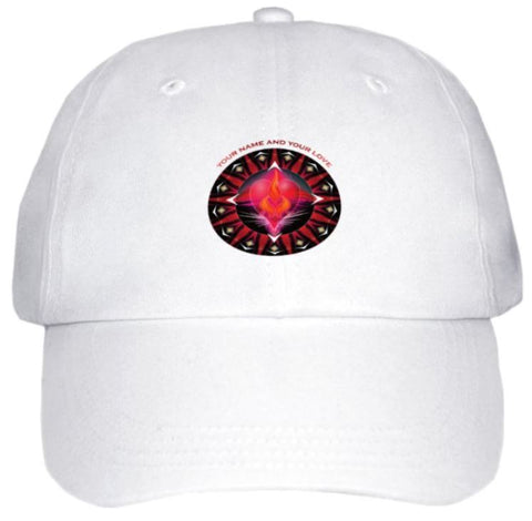 Ball Cap Twin Flame Energy Mandala
