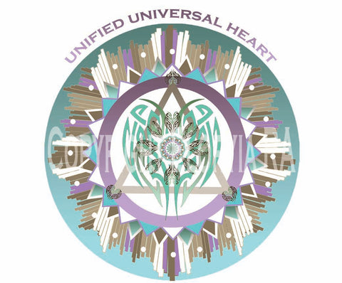 Window Decal - Unified Universal Heart