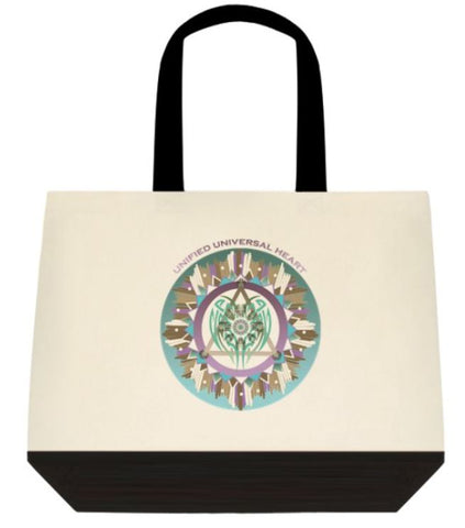 Tote Bag Two Tone - Unified Universal Heart