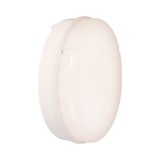 18w LED Microwave White Prismatic Bulkhead Fitting