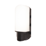 9w LED Black Bulkhead with Night & Day Photocell