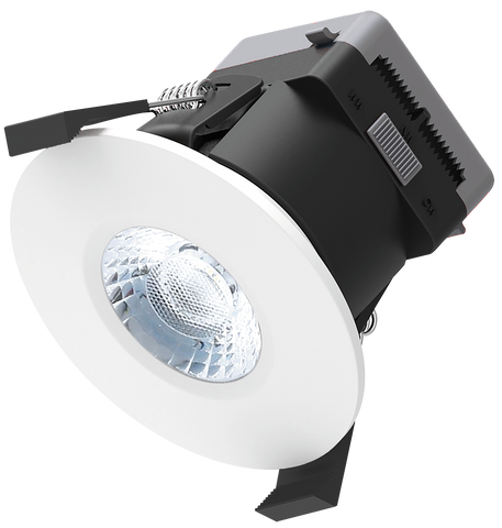 Polaris 8w LED Tri-Colour Dimmable Downlight For Shallow Ceiling Voids