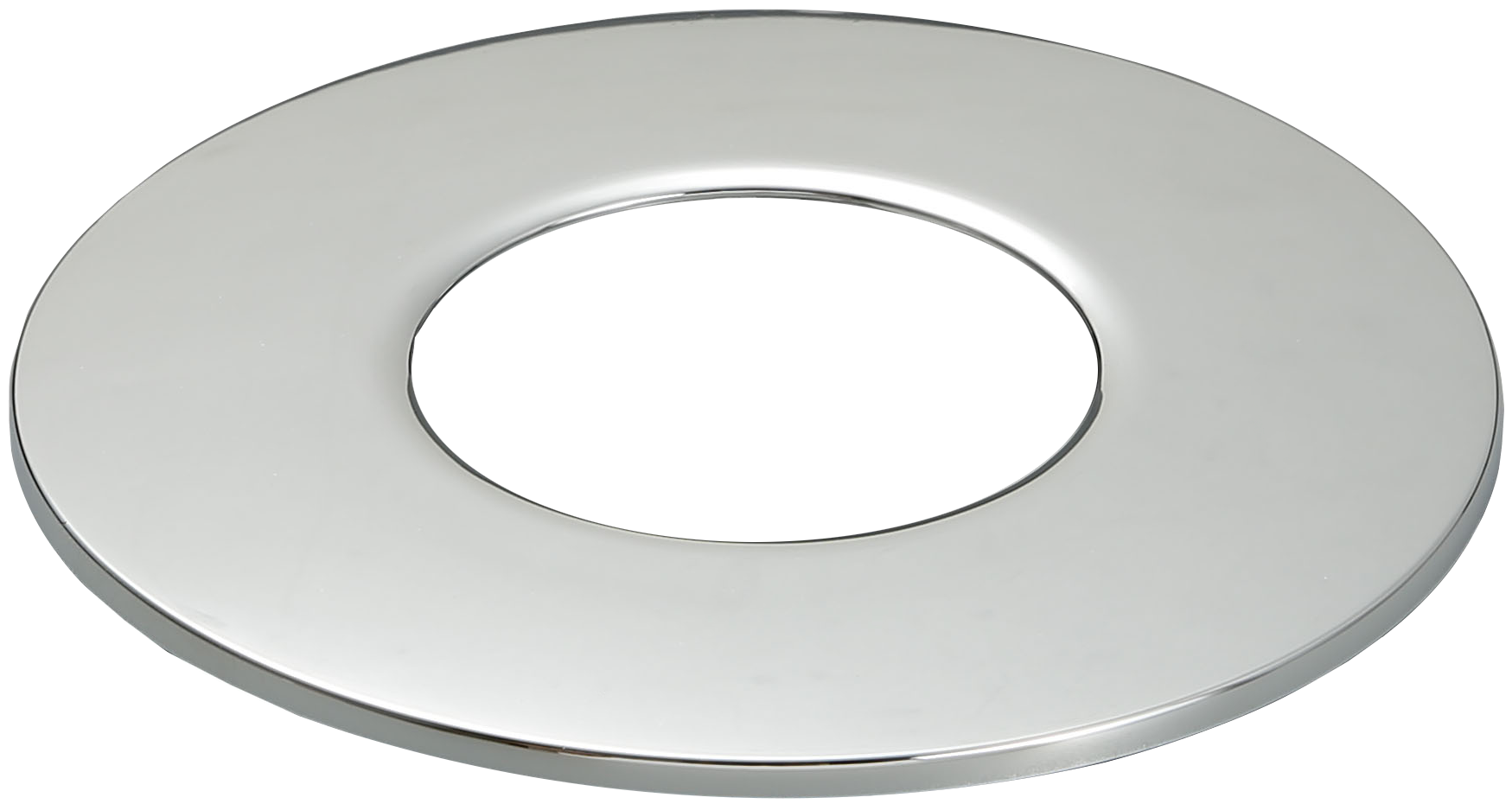 Chrome Bezel For 8w LED Tri-Colour Dimmable Downlight