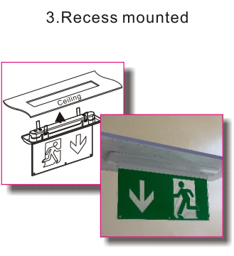 Soteria 3 in 1 Emergency Exit Sign