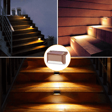 Load image into Gallery viewer, LED Solar Deck Lights