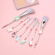 Load image into Gallery viewer, (Buy 2 Free Shipping)Unicorn Makeup Brush Loose Eyeshadow Brush Set Eye Beauty Tools