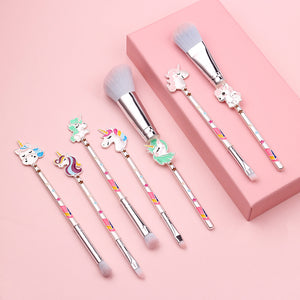 (Buy 2 Free Shipping)Unicorn Makeup Brush Loose Eyeshadow Brush Set Eye Beauty Tools