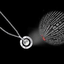 Load image into Gallery viewer, I Love You 100 Languages Necklace