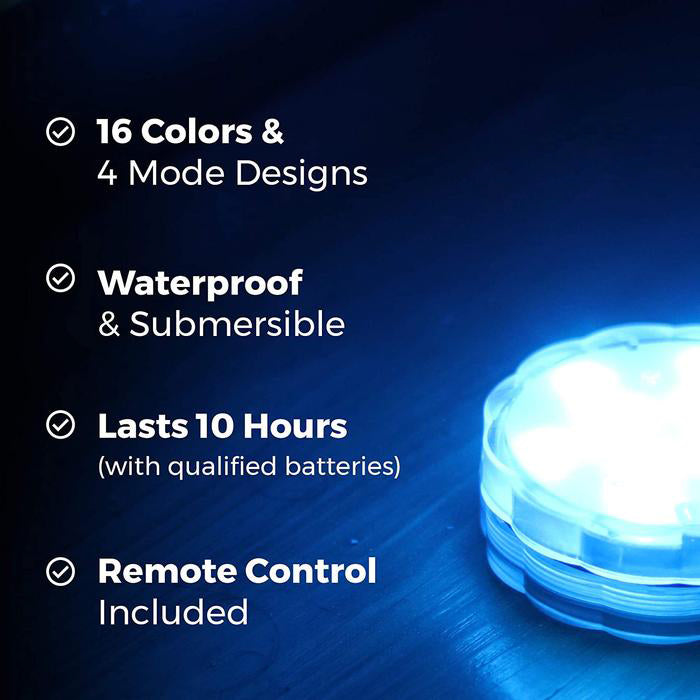 LED Remote Control Light