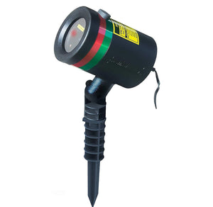 (CHRISTMAS) Star Shower Laser Christmas Lights & Outdoor Holiday Projectors