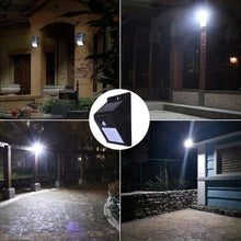 Load image into Gallery viewer, Outdoor Waterproof Solar Sensor Motion LED Light