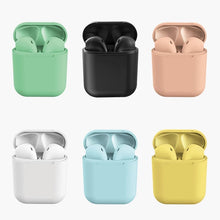 Load image into Gallery viewer, Buy 2 Free Shippping🎧-i12 Latest Macaron Colorful Wireless Bluetooth Headset Inpods