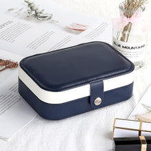 Load image into Gallery viewer, Protable Leather Multi-function Storage Box Case Jewelry Box