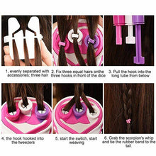 Load image into Gallery viewer, Automatic Easy Hair Braids Playset
