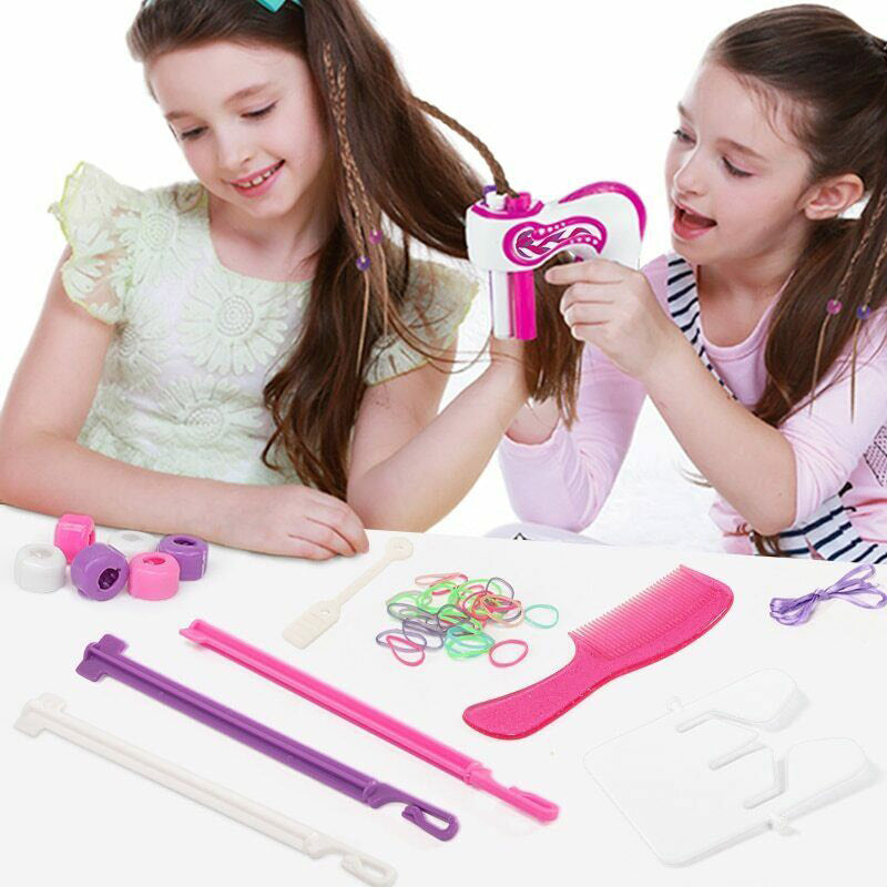 Automatic Easy Hair Braids Playset