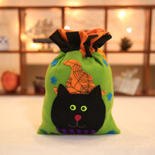 Load image into Gallery viewer, Halloween Brushed Cloth Candy Bag Halloween Decoration Props Supplies Party Favor Bags