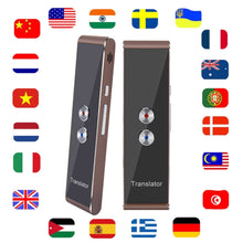 Load image into Gallery viewer, International Travel Essential Portable Smart Voice Translator
