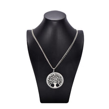 Load image into Gallery viewer, Rhinstones Pendant Necklace with Austrian Crystals