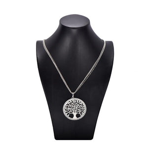 Rhinstones Pendant Necklace with Austrian Crystals