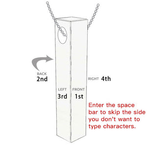 Vertical 3D Bar With Engraving (BUY 2 GET 10% OFF)