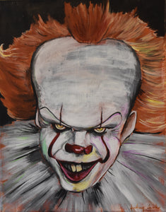 Pennywise IT  8X10 Art Print