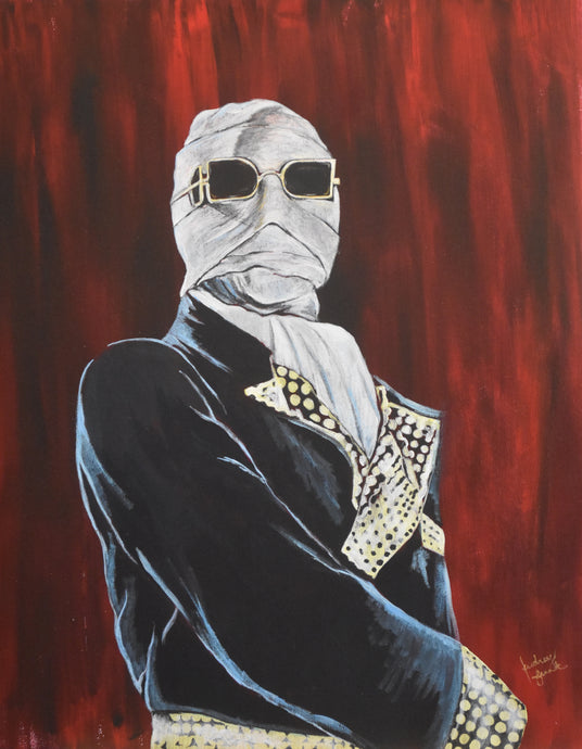 Invisible Man 8X10 Art Print