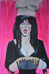 Mistress of the Kitchen 8X10 Art Print