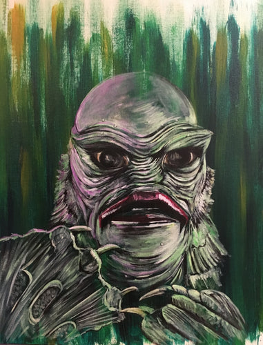 Creature from the Black Lagoon Don Post 8X10 Art Print
