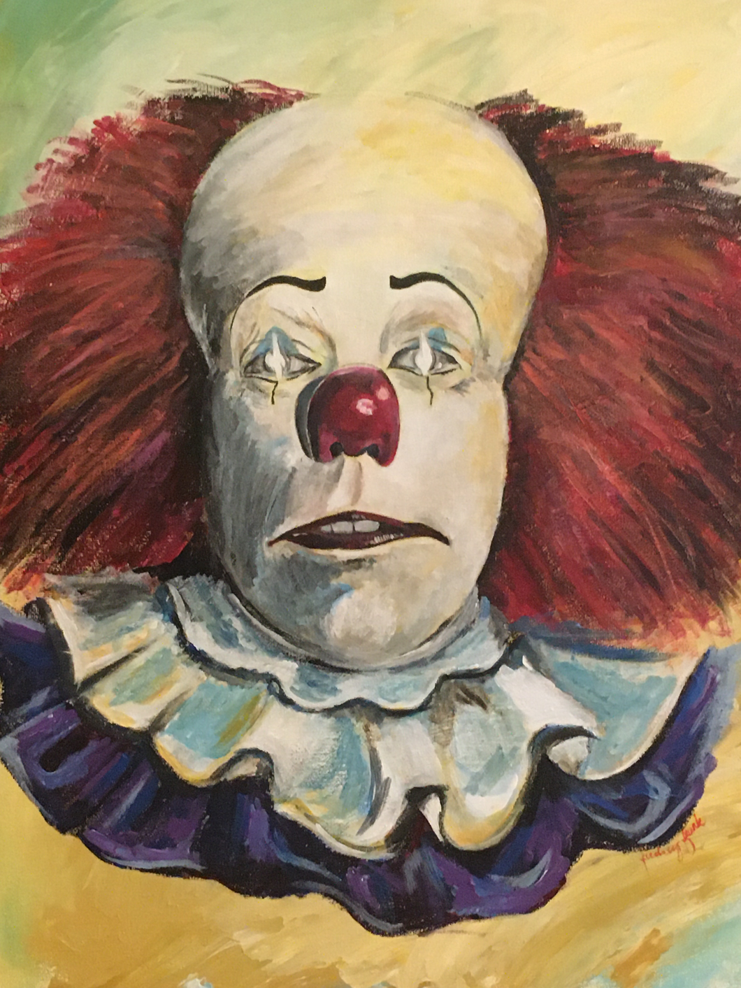 Deadlights Clown 8X10 Print
