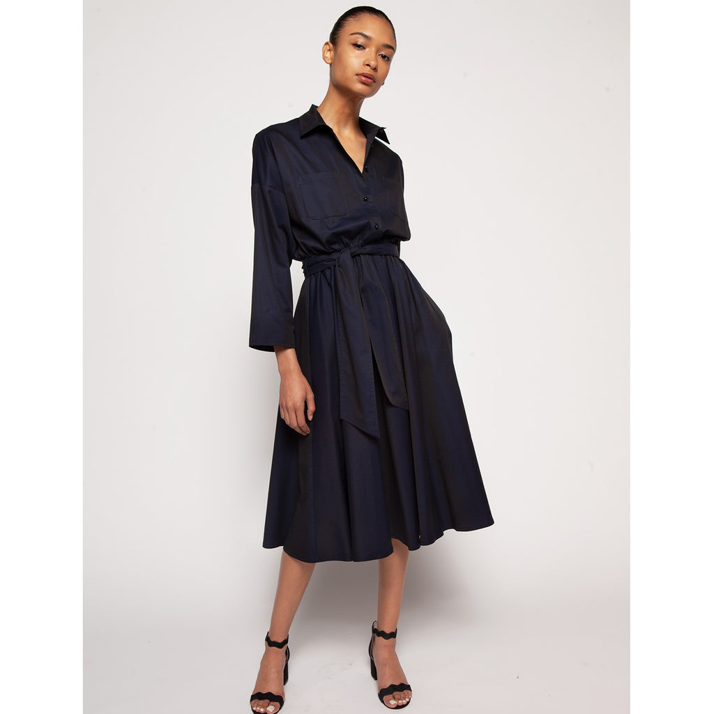 Liz shirtdress - Navy