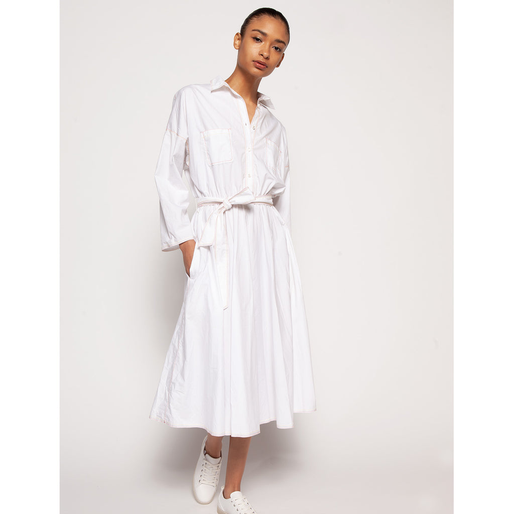 Liz shirtdress - White