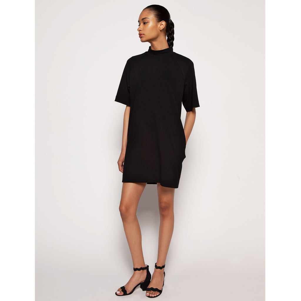 Owen T-shirt dress - Black