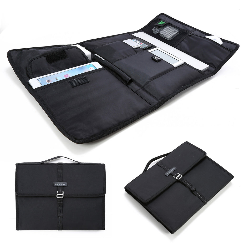 "<Smart Pouch>PC/ タブレット用スマート収納ケース MacBook Pro13""/ MacBook Air/ Microsoft Surface Pro/ iPad mini"