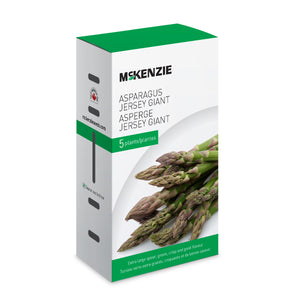 Grow a tasty side dish with these Asparagus Jersey Giants from McKenzie Seeds