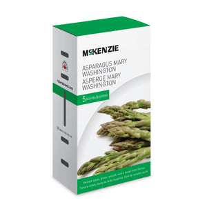 A delicious selection of Asparagus Mary Washington from McKenzie Seeds