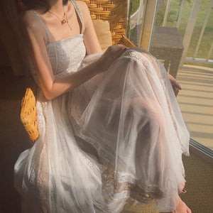 Long Gauze Dress