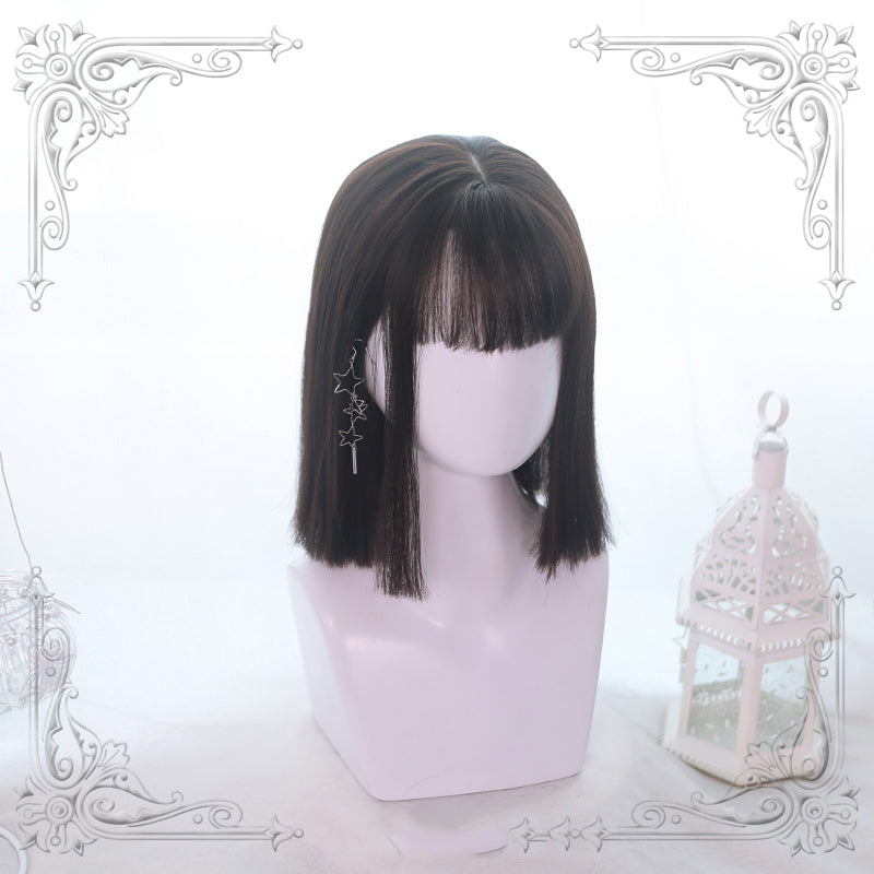 Mid-Long Straight Wig