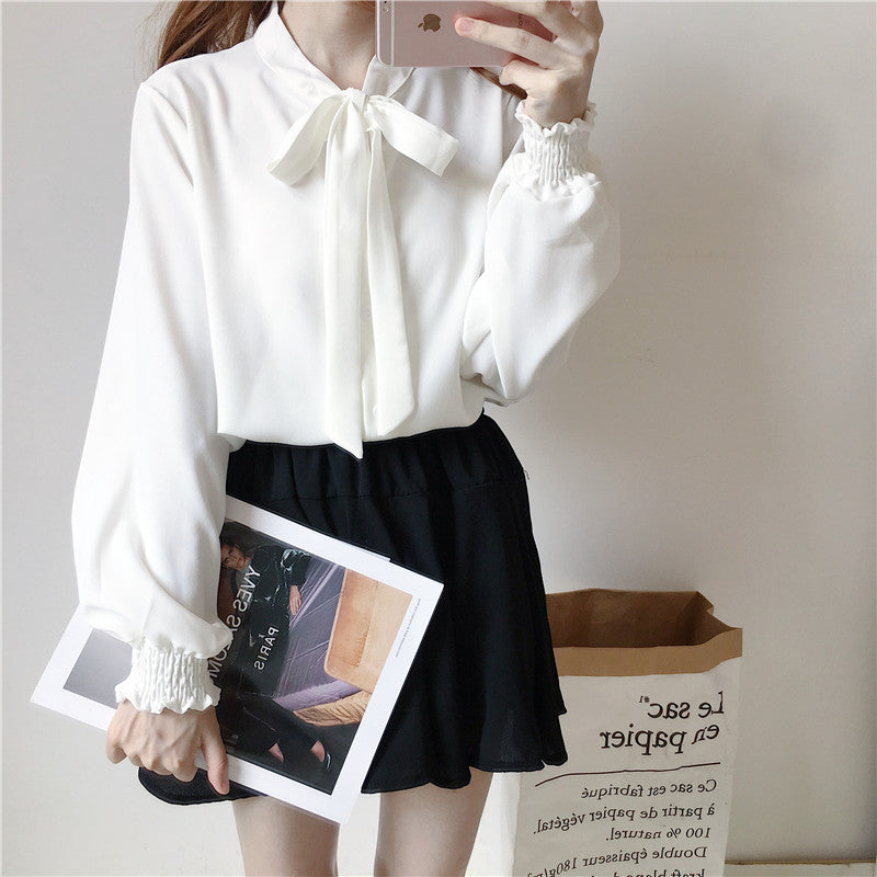 Lovely Bowknot Blouse