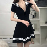 Seifuku Sailor Dress w/ Zipper