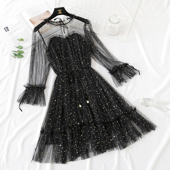 Starry Gauze Dresses