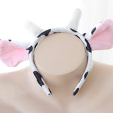 Seven Piece Cow Lingerie Set