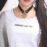 Heart Choker With Key